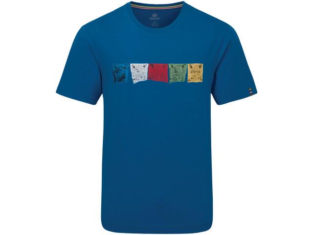 Sherpa Tarcho Camiseta Hombre, azul